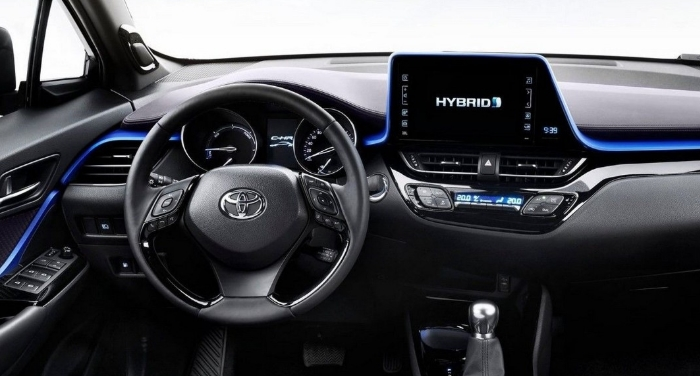 2021 Toyota C-HR Interior