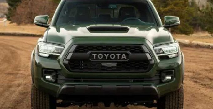 New 2022 Toyota Tacoma Redesign, Concept, Release Date
