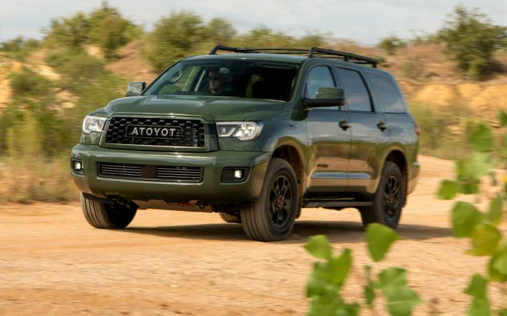 New Toyota Sequoia 2022 Release Date